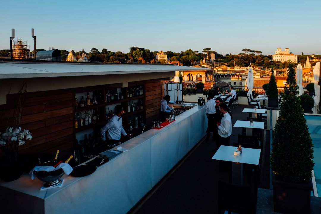 The Absolute Coolest Rooftop Bars In Rome 2019 With Images Hotels Rome Italy