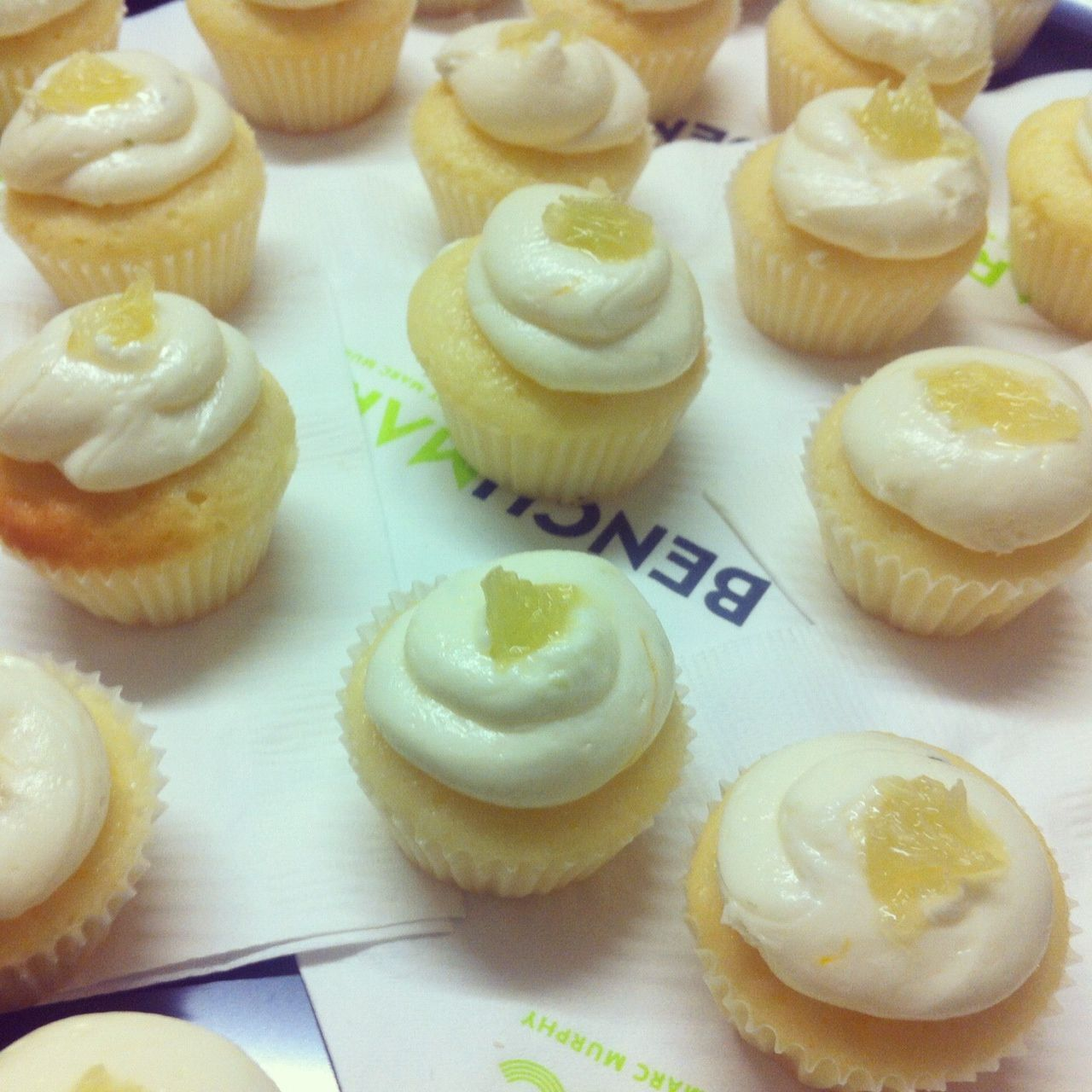 We are head-over-heels for these Butter Lane mini-cupcakes!