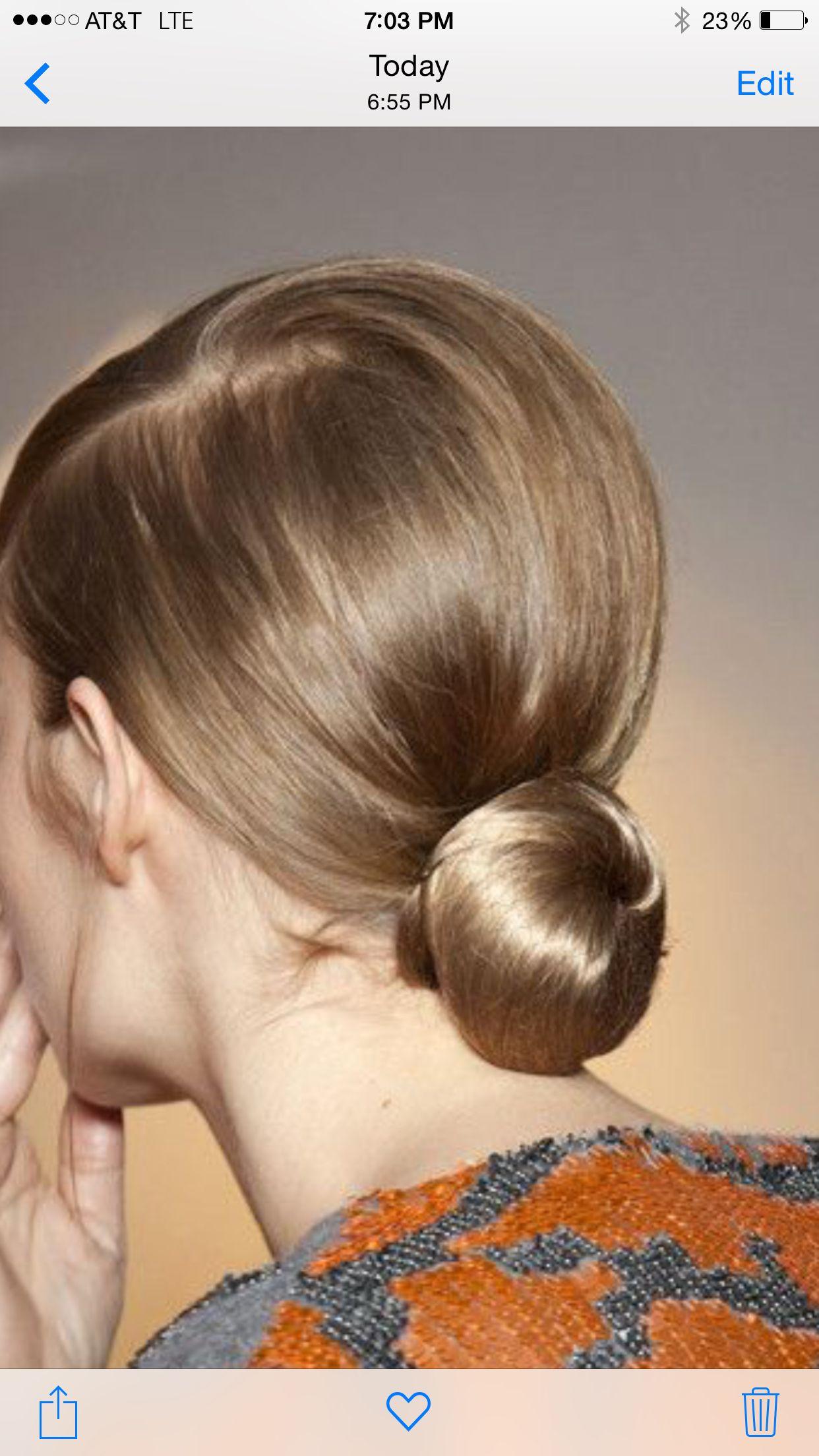 Coiffured buns peinados pinterest hair style