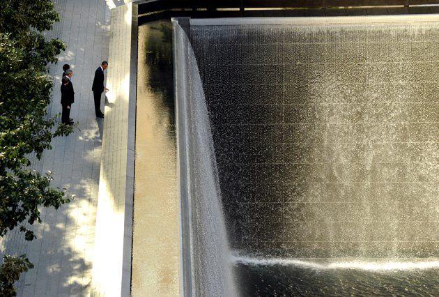Memorable moments: Ground Zero memorial ceremony