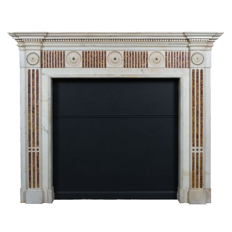 Irish Georgian Marble Mantle Piece | From a unique collection of ...