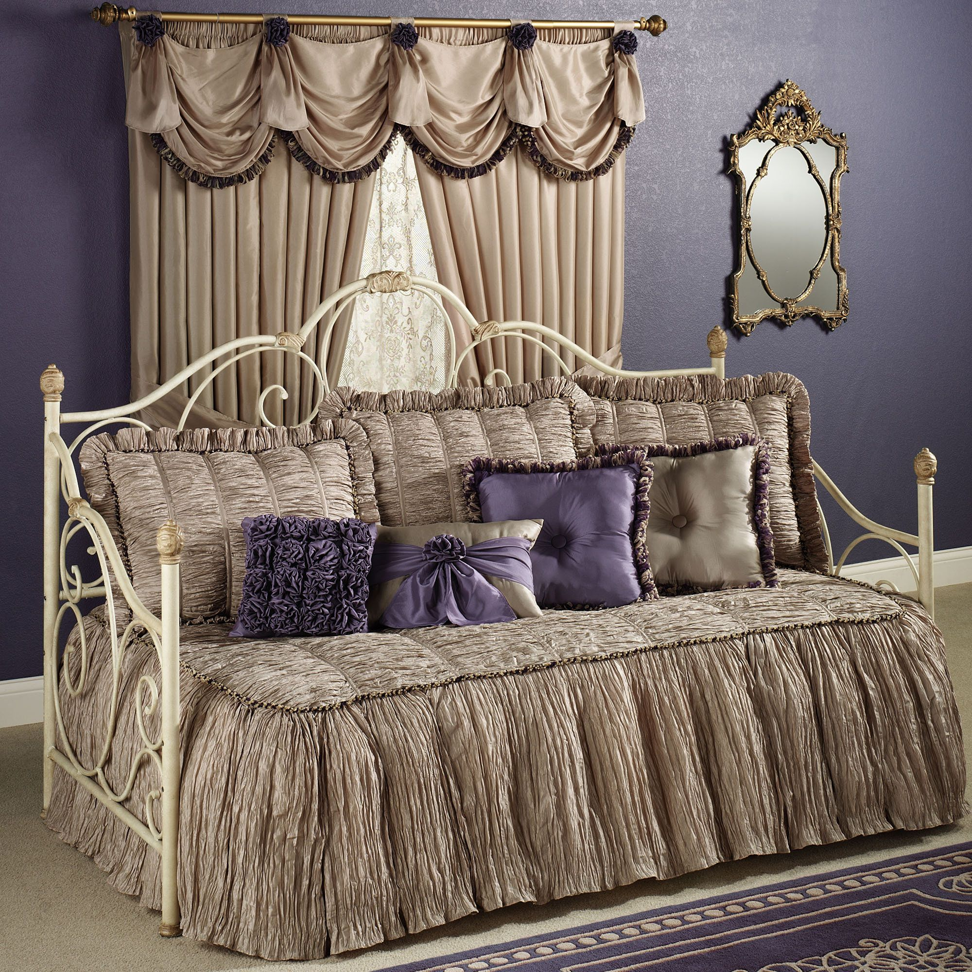 Overstock daybed bedding home design ideas - Baroness Daybed Bedding Set
