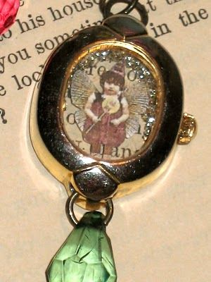 Charms from old watches... http://cheryl-comfort.blogspot.com/2011/03/watch-charms.html