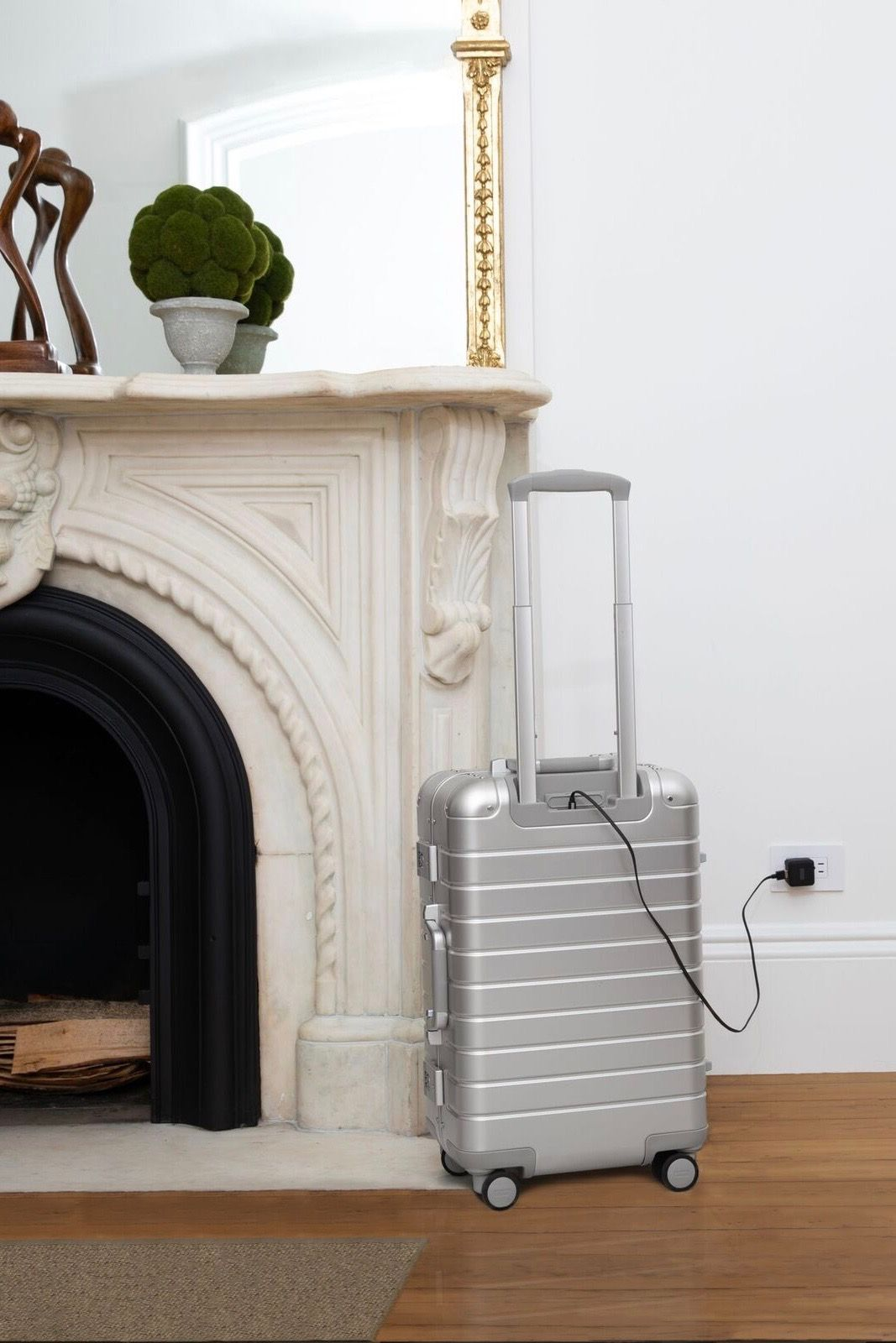 091ceb0c3 The Aluminum Edition isn't just your elevated luggage, it's also the  perfect decorating accessory. Shop The Bigger Carry-On: Aluminum Edition.