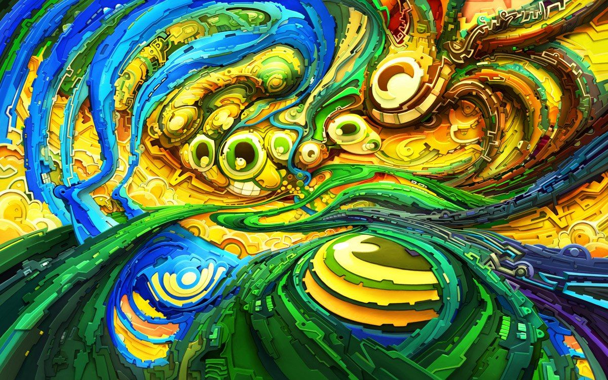 Trippy Wallpapers Psychedelic Background HD Collection   HD ...
