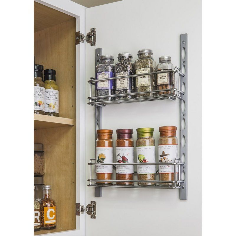 Hardware Resources Dms3 R Door Mounted Spice Rack