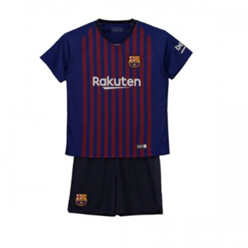 sports shoes 2b84f f6a1e Cheap Kids Barcelona Home Soccer Jersey Kit Children Shirt + ...