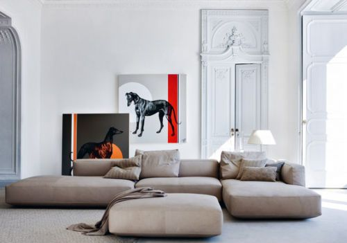 Zanotta, Piero Lissoni designer sofa Living Divani, Cappellini ...