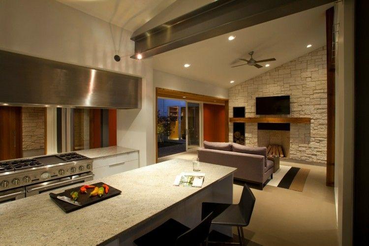 diseo de techos modernos con luces led