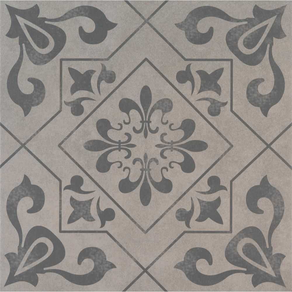 Msi Calypso 18 In X 18 In Matte Ceramic Floor And Wall Tile 2 25 Sq Ft Nhdcal1818 The Home Depot Ceramic Floor Wall Tiles Floor And Wall Tile