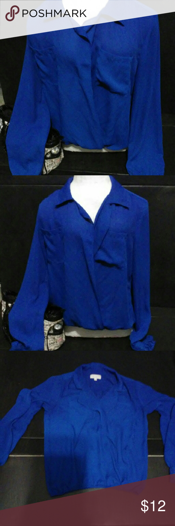 """Women's blouse by """"Empire"""" size large Worn 1 time excellent condition $4 if bundled with something else just ask empire Tops Blouses"""