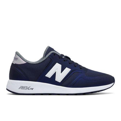 420 New Balance Women's Running Classics Shoes - Grey/White (WRL420LA)