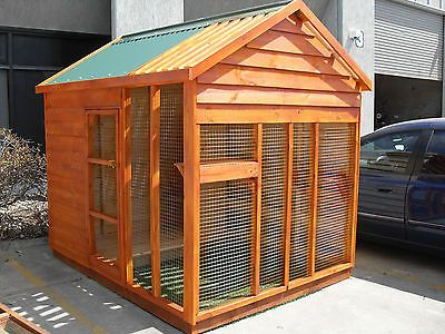 Large cat run new the weatherproof cat enclosure made by for Design a shed cubbies