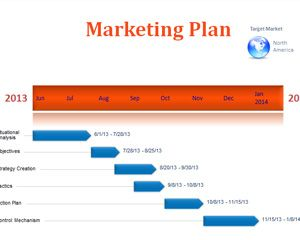 marketing plan timeline template for microsoft powerpoint is a free
