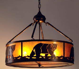 Rustic lodge chandelier d bears oh my pinterest rustic lodge chandelier aloadofball Image collections