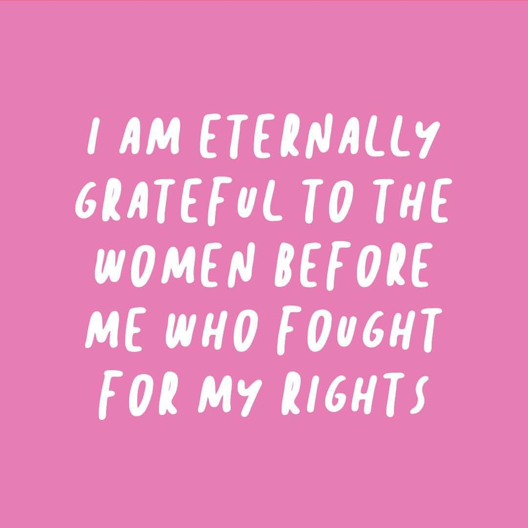 On the anniversary of the 19th Amendment, I just want to thank the ...