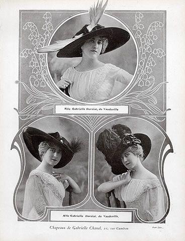 Coco Chanel Hats History