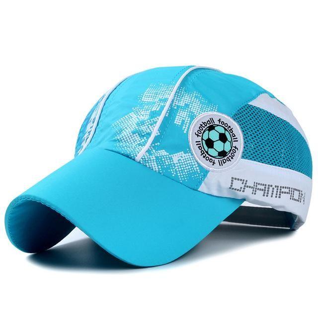 Classic Kids Breathable Quick Dry Baseball Caps Boys Girls Basketball  Football Embroidery Mesh Hip Hop snapback ed8554bdcaf