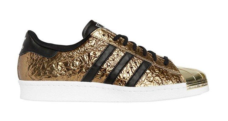 Adidas Women Men Originals Superstar 80s Metal Toe Shoes Gold Foil Adidas Superstar Adidas Originals Superstar Adidas Superstar 80s