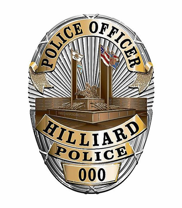 Hilliard Pd Oh Police Badge Fire Badge Badge