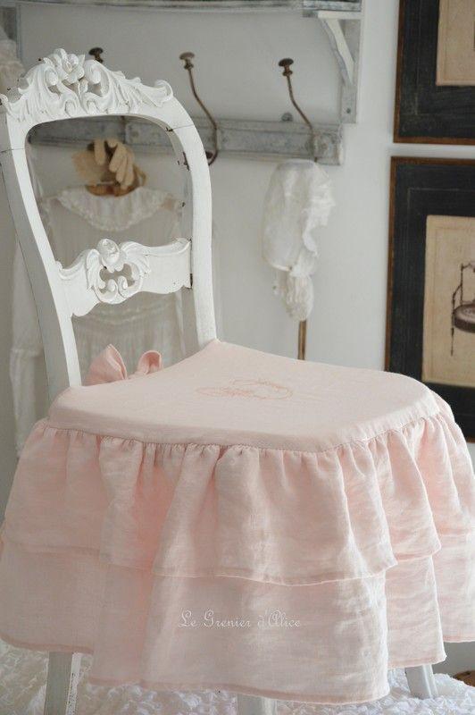 Habillage De Chaise En Tissus Latest Habillage De Chaise