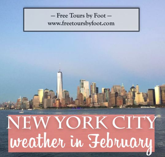 This Post Is A Summary Of The Weather In February In Nyc Including Average Temperatures How Much Snow To Expect Plus Tip New York Weather New York February New York City
