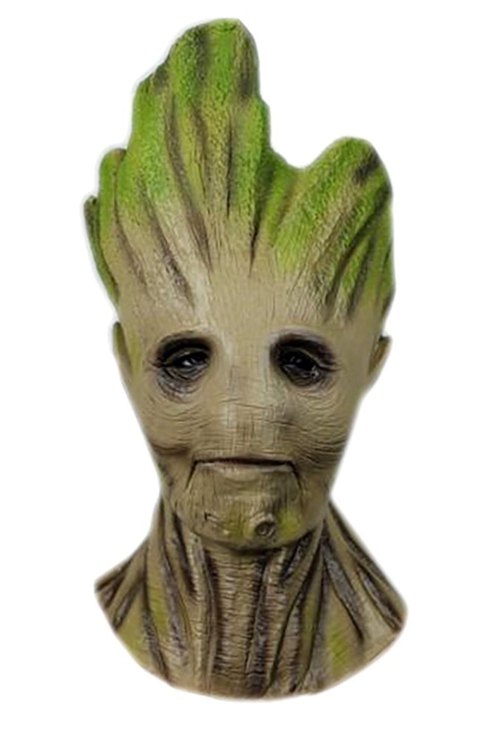 Beautiful Groot Tree Head Mask   Deluxeadultcostumes.com/guardians Of The Galaxy Mens  Costumes/