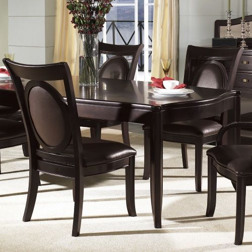 Somerton Dwelling Signature Bicast Leather Dining Side Chairs - Set of 2 - Dining Chairs at Hayneedle