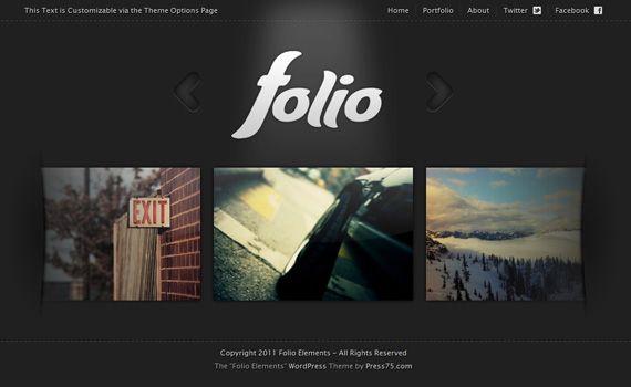 folio #premium portfolio #wordpress #themes | Wordpress Themes ...