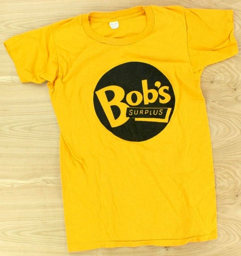 vintage 70's 80's Bob's Surplus (now Bob's Stores