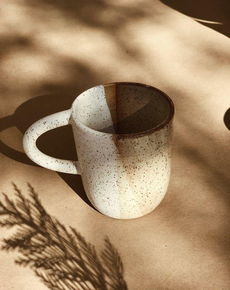 Easy To Breathe Ceramic Sand Mug on Garmentory