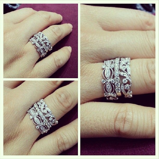 Stacking Bands YES PLEASE Can be worn on your right hand or as wedding band