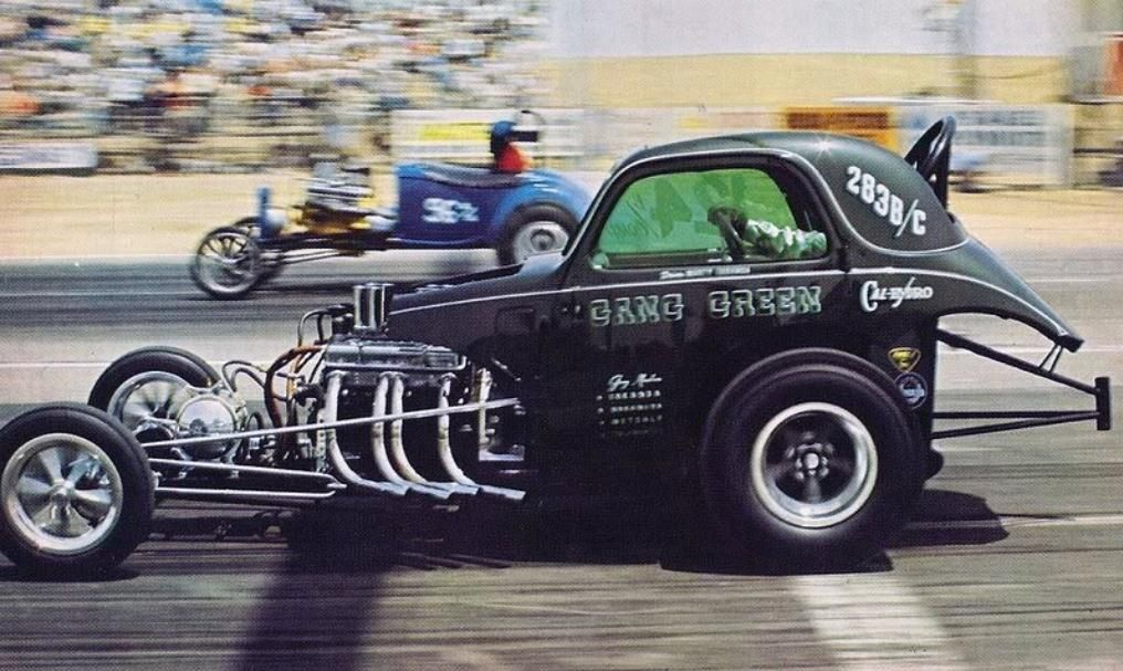 old drag car | History Drag cars in motion.....picture thread ...