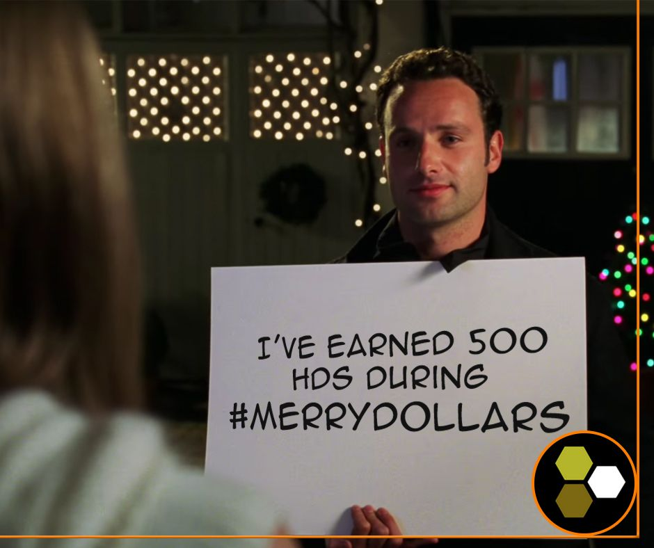 It's Love Actually with Honey Dollars.
