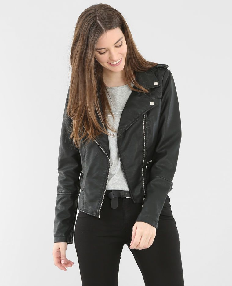 Pimkie veste noir et blanche