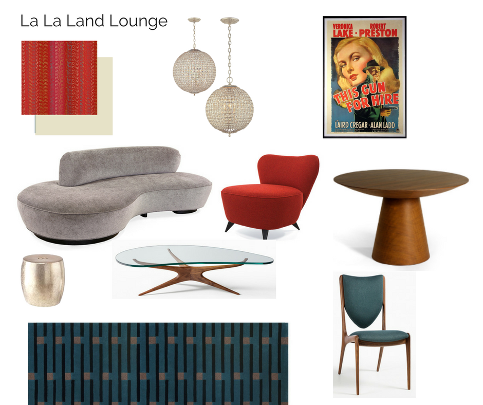 Room In A Box La La Land Inspired Lounge With Images Room Box