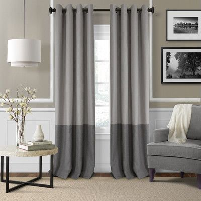 Found it at Wayfair   Braiden Blackout Single Curtain Panel