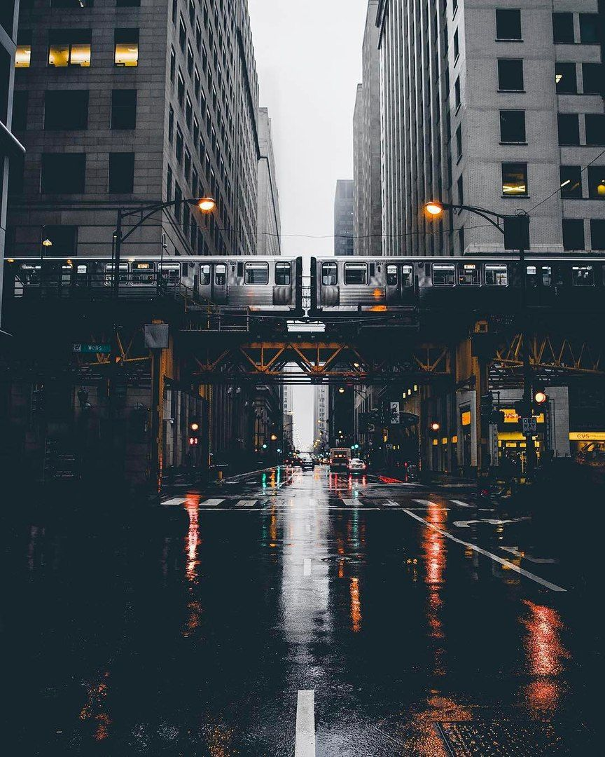 City Aesthetic Landscape Photography