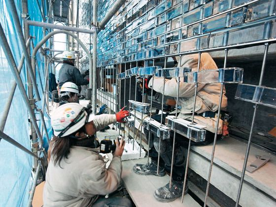 Glass Brick | Residence Hiroshima Optical Glass House Hiroshi Nakamura