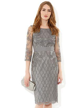 Alexis Dress | Grey | Monsoon | Dresses | Pinterest