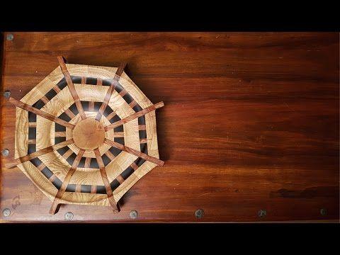 Segmented Epoxy And Wood Bowl Youtube Turning Wood