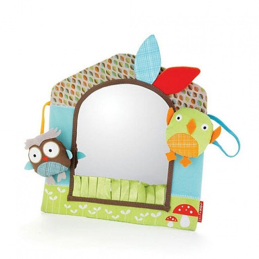 Skip Hop Treetop Friends Friendly Forest Activity Mirror 307502 Baby Mirror Toy Baby Mirror Friend Activities