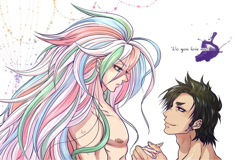 Toriko ~~~ Fanart that forces me to question what pairing(s) I could live with.... :: Sunny X Coco