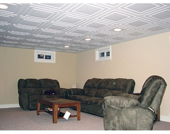 how to make low ceilings chic  low ceiling basement basements and