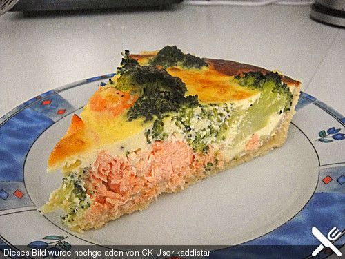 Photo of Brokkoli – Lachs – Quiche