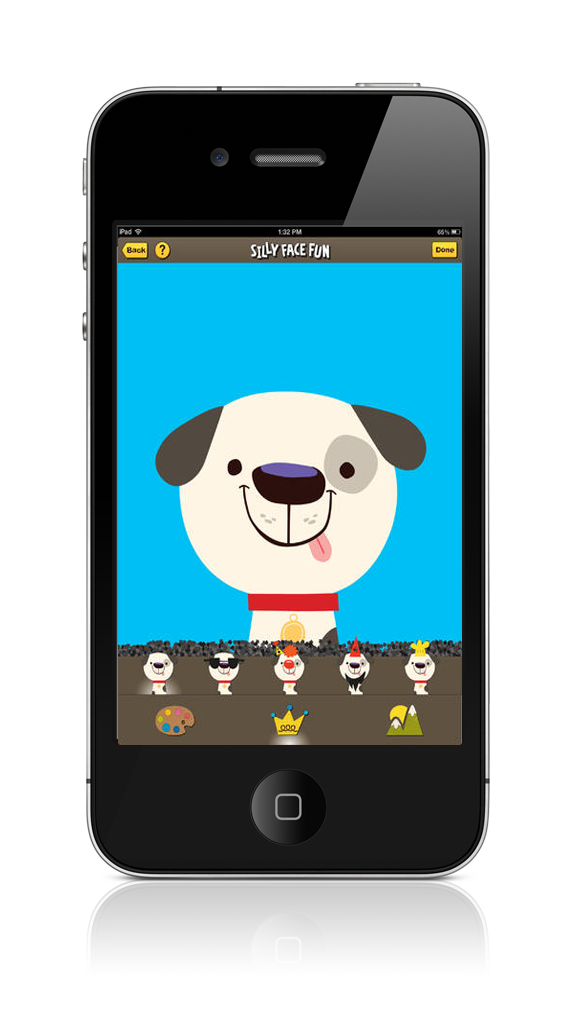 Mobile Silly Fun Face iPad & iPhone App by Airtouch New