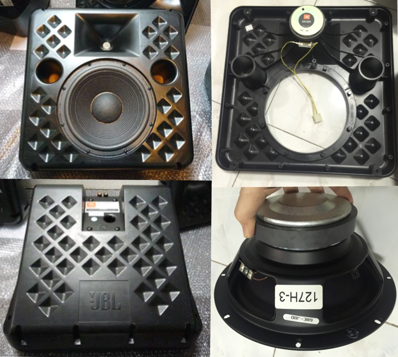 Jbl 8340a 127h 3 Woofer And 2412h 1 Driver 音楽を聴く アンプ エッジ