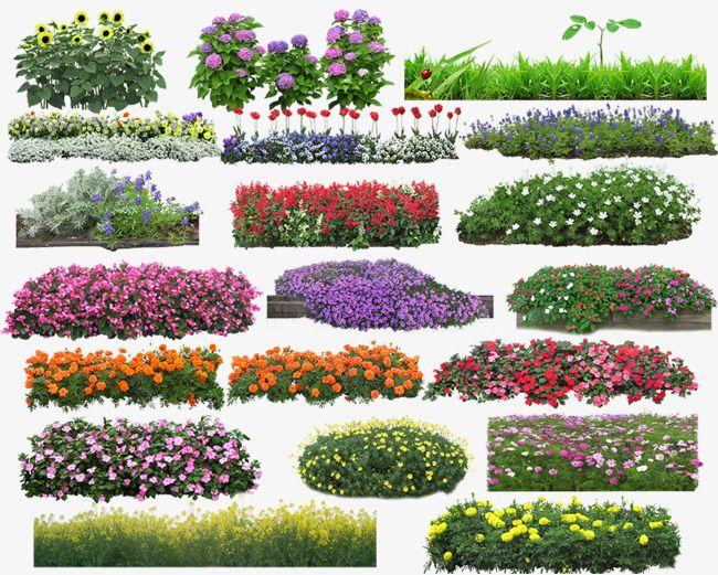 꽃밭 풀숲 그림