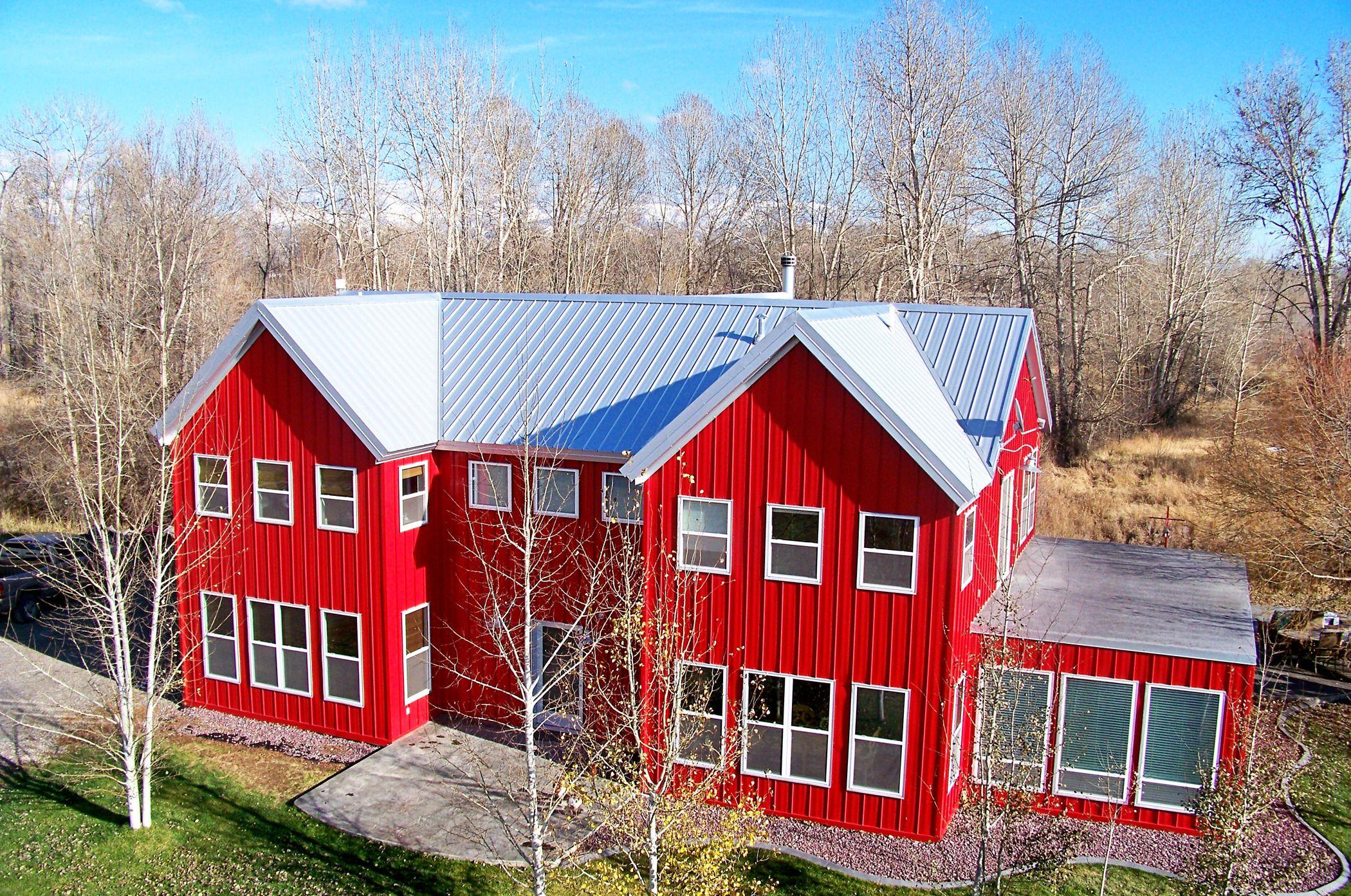 Metal Roofing By Bridger Steel Galvalume In Sl Nail Strip Bridgersteel Com Metal Roof Residential Metal Roofing Commercial Metal Roofing