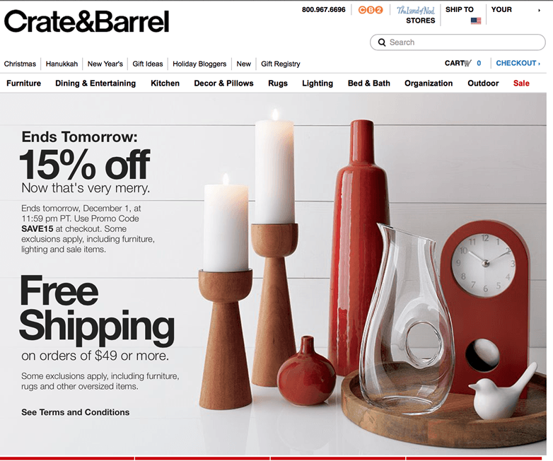 Crate And Barrel Promo Codes We At First Launched Our Entry Doors In 1962 As The Company Of A Loved One Gordon Crate And Barrel Entertaining Kitchen Crates